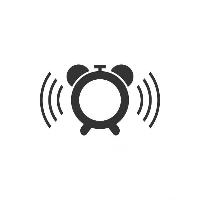 Alarm Clock Icon Design Template Vector Isolated, Clock