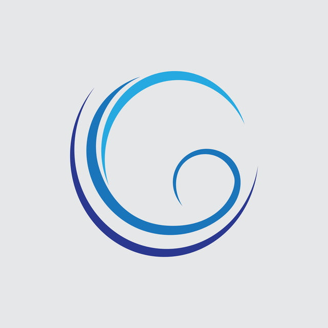 dcbd96f9a052 Abstract Wave Shape Letter G Business Logo