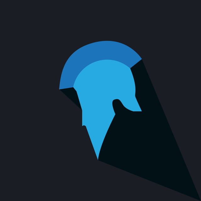 Spartan Helmet Logo Template For Sport Mascot Warrior Illustration