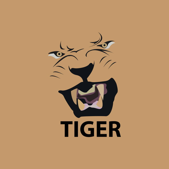 Tiger head logo design - photo#50