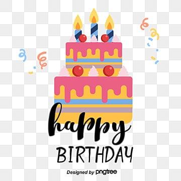 Cake ribbon happy birthday birthday hand painted font Fonts