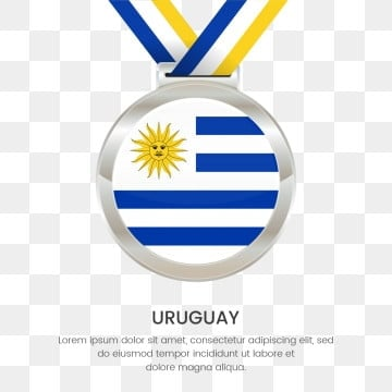 uruguay flag silver medal hanging, Uruguay Independence Day, Independence Day Medal Flag, Silver Medal National Flag PNG and Vector