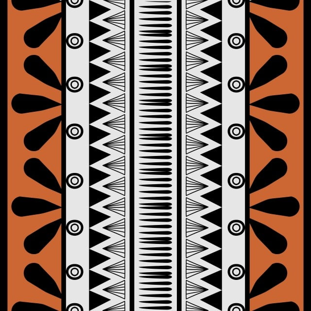 Retro Colors Tribal Vector Seamless Navajo Pattern Aztec Abstract