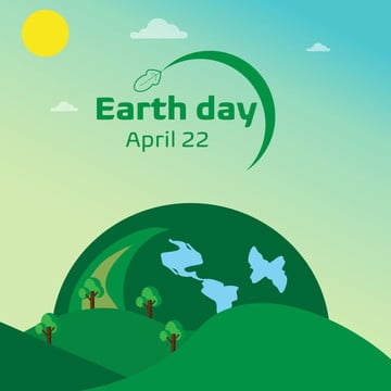 earth day, Earth Day, Earth, Green PNG and Vector