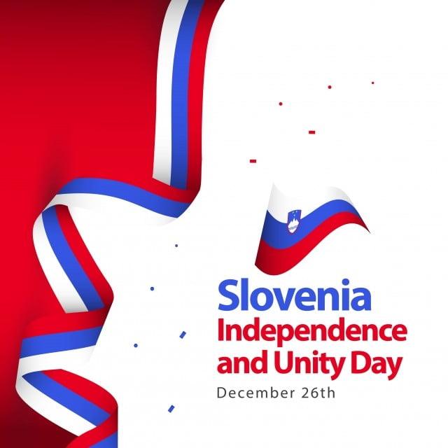 Eslovenia La Independencia Y La Unidad De Dia Diseño De