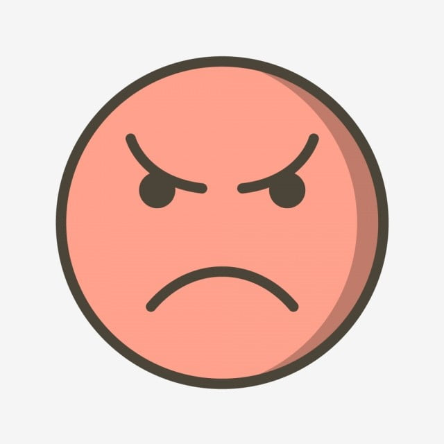 Vector Angry Emoticon Icon Angry Emoji Emoticon Png And Vector