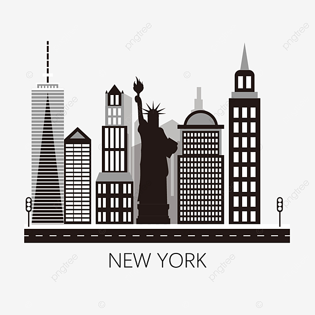 new york city png  vector  psd  and clipart with