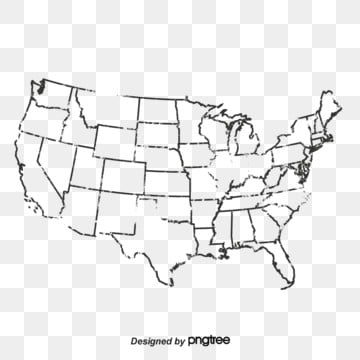 United States Map Png, Vector, PSD, and Clipart With ...