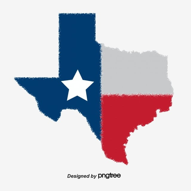Creative Hand-drawn Map Of Texas, USA, Map, Texas, Texas Map PNG and ...