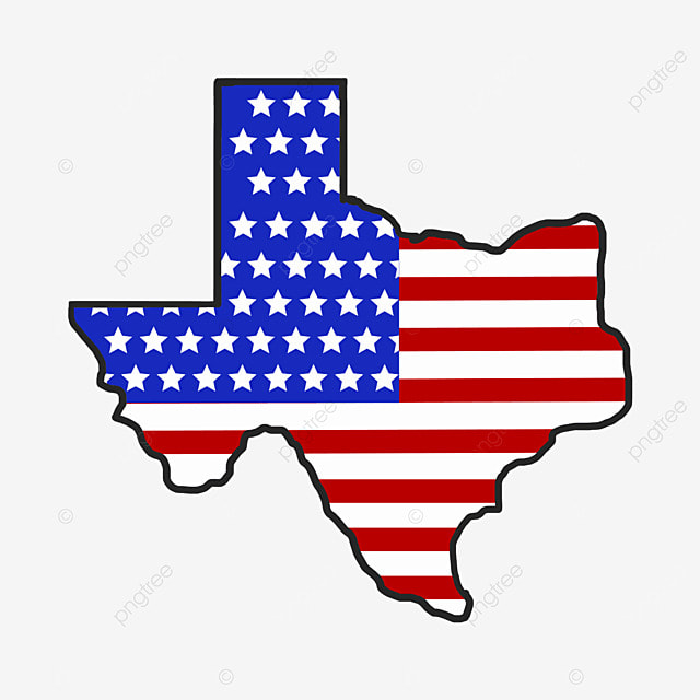 Retro Black Border Texas, Logo, Usa, Map PNG and Vector for Free ...