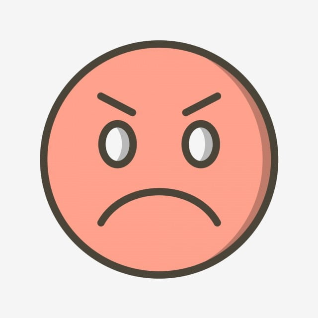 Vector Angry Emoji Icon Angry Emoji Emoticon Png And Vector With