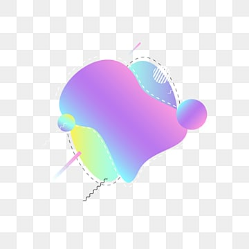 memphis label fluid gradient dialogue creative design elements, Memphis, Dialog Box, Label PNG and Vector