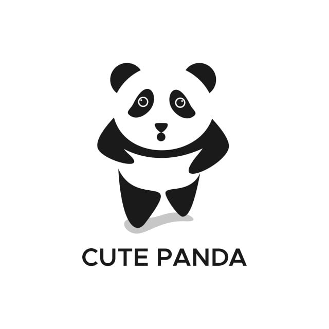 pngtree cute panda vector illustration for your company or brand png image 844347