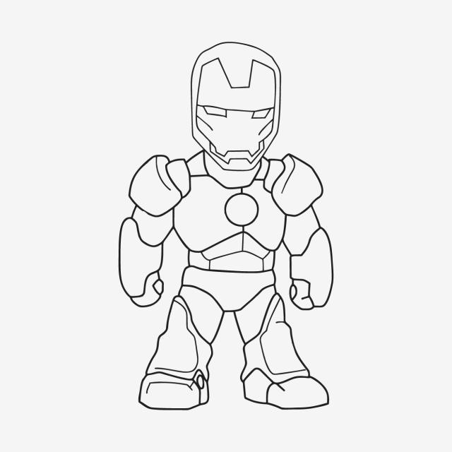 Sketch of iron man sketch ironman power png and vector - Iron man cartoon download ...