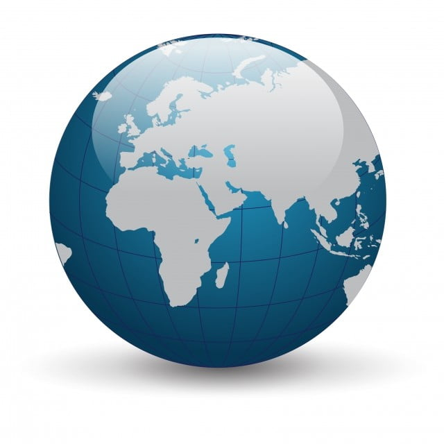 Vector Of Globe, Earth, World, Planet PNG and Vector with