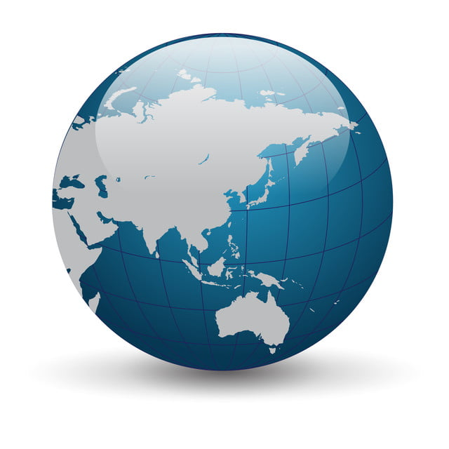 Vector Of Globe, Earth, World, Vector PNG and Vector for