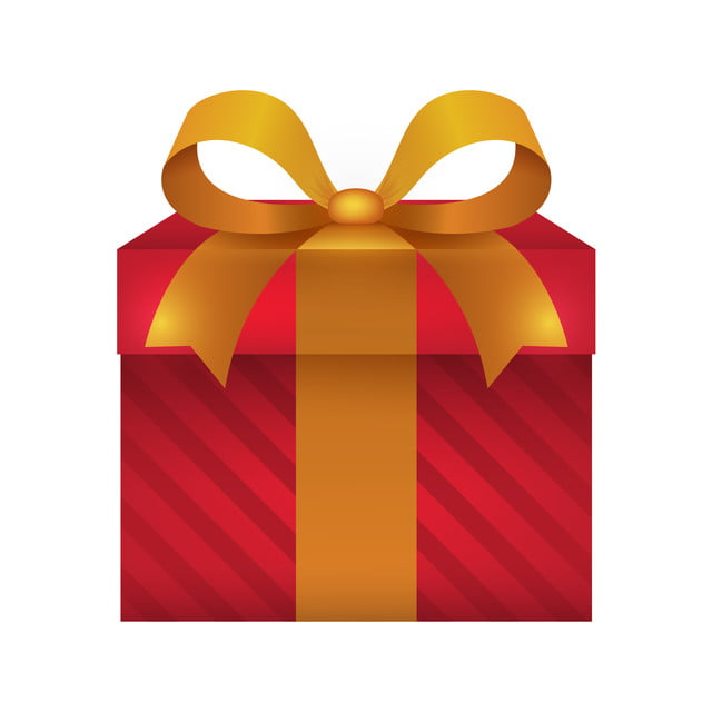 Vector Of Realistic Gift Box Ribbon Present Gift Png And Vector With Transparent Background For Free Download