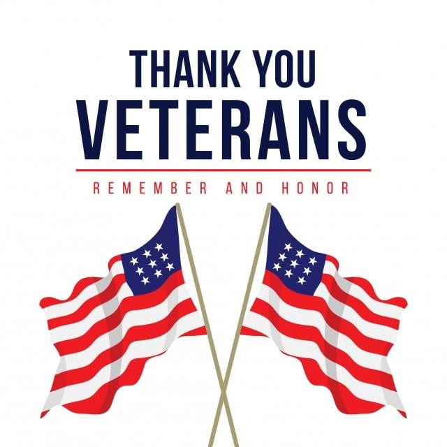 Thank You Veterans Vector Template Design Illustration ...