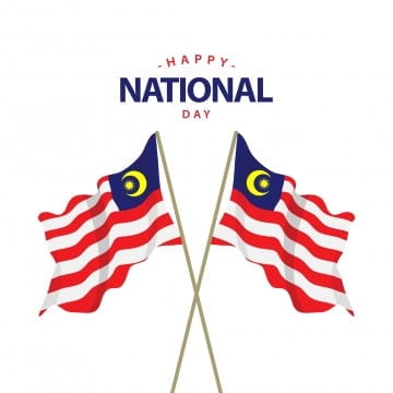happy malaysia national day vector template design illustration, Malaysia, Merdeka, National PNG and Vector