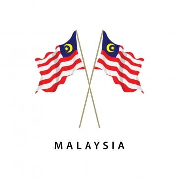 malaysia flag vector template design illustration, Malaysia, Flag, National PNG and Vector