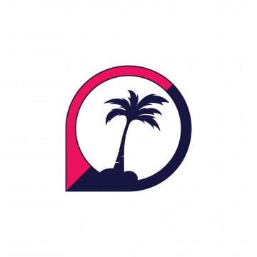 Gambar Pohon Kelapa Logo Png Vektor Psd Dan Untuk Muat Turun Percuma Pngtree