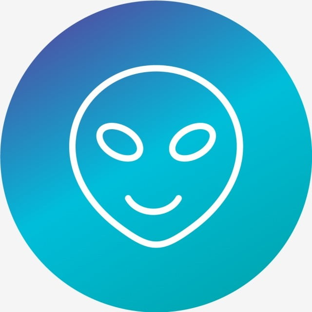 Vector Alien Emoji Icon Alien Emoji Emoticon Png And Vector For