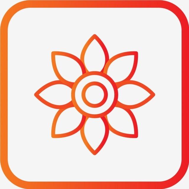 df27bd1add4b Vector Flower Icon