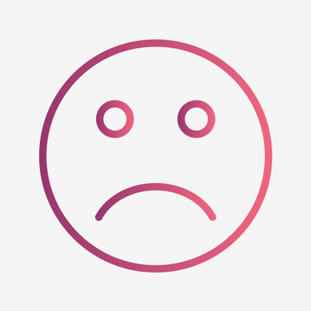 Smiley Triste Icone Vecteur Triste Emoji Emoticone Png Et Vecteur Pour Telechargement Gratuit