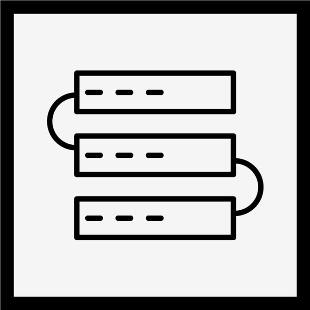 Vector Servers Icon, Server Icon, Servers Icon, Network Icon