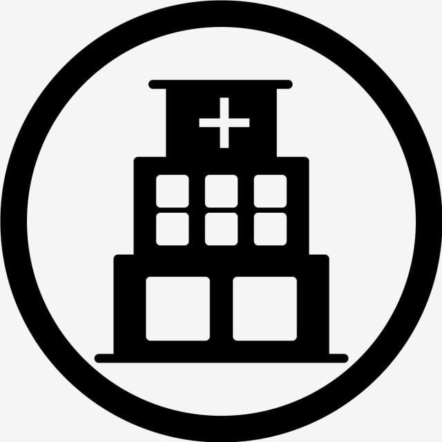 ikon rumah sakit vektor klinik rumah sakit medis png dan vektor dengan latar belakang transparan untuk unduh gratis ikon rumah sakit vektor klinik rumah