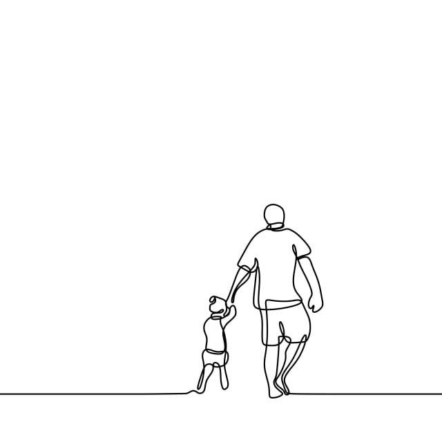 Gambar Ayah Dan Anak Perempuannya Berterusan Satu Garis Lukisan Vektor Ilustrasi Bentuk Minimum Lelaki Kebahagiaan Zaman Kanak Kanak Png Dan Vektor Untuk Muat Turun Percuma