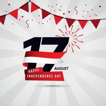 happy indonesia independence day 17 august vector template design, Indonesia, Independence, Background PNG and Vector