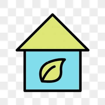 Vector Eco Home Icon Eco Ecology House Png And Vector For Free