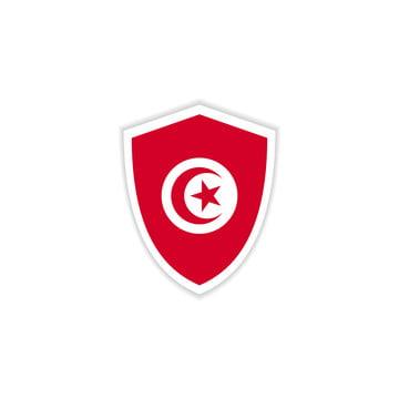 علم تونس متحرك