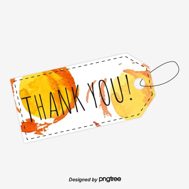 373ffd485 Letra De Aquarela Design Etiqueta Laranja Obrigado Com Ppt Obrigado ...