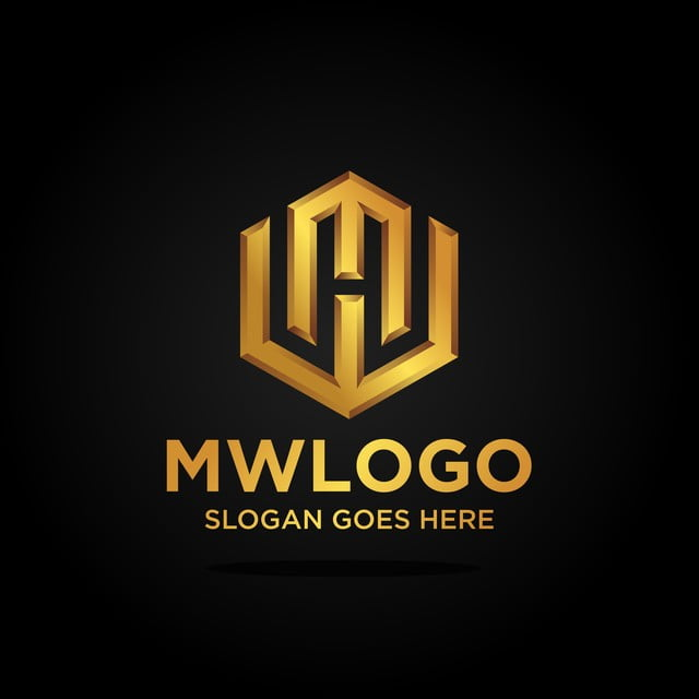 Monogram luxury letter mw logo vector logo business for Design lago