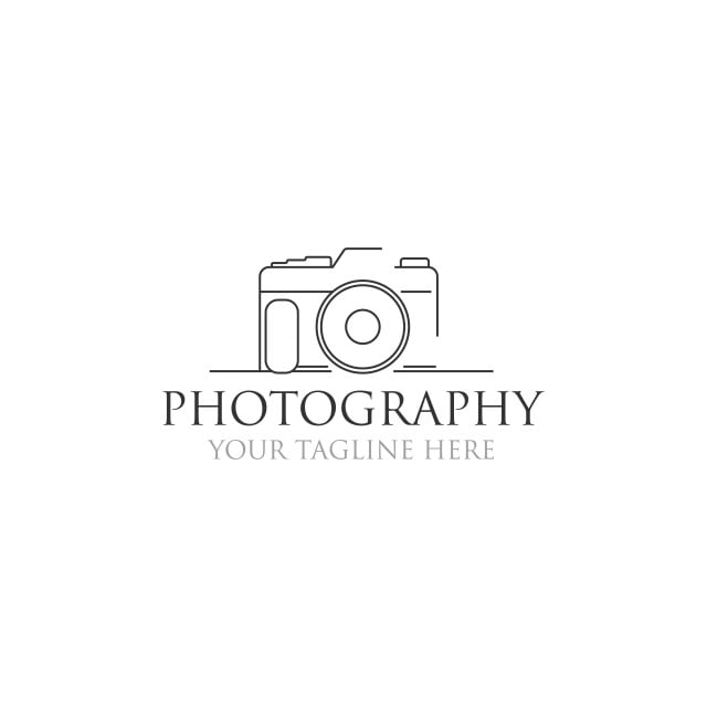 Minimalist Photography Logo Designs Logo Icons Photography Icons Photography Png And Vector With Transparent Background For Free Download