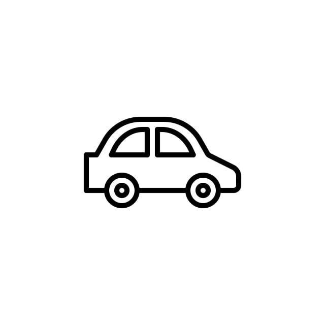Car Icon Stock Of Transportation Vehicles Isolated Vector