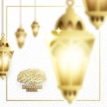 hanging ramadan lantern or fanoos lantern & moon backgr, Ramadan, Kareem, Eid PNG and Vector