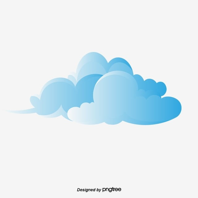 cartoon cloud material xiangyun blue stereo cloud cloud cartoon cloud auspicious cloud clouds png and vector with transparent background for free download cartoon cloud material xiangyun blue