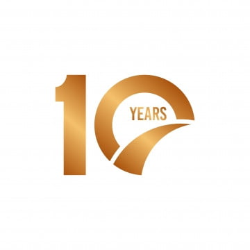 10 Years Png Vector Psd And Clipart With Transparent Background