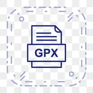 Gpx File Document Icon, Gpx, Document, File PNG and Vector