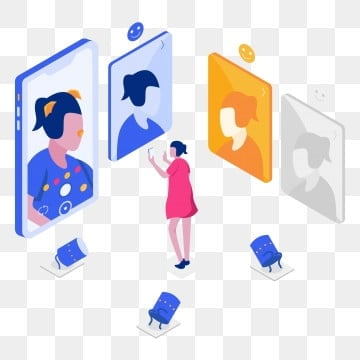 photo filter isometric illustration concept  isometric flat design concept of web page design for website and mobile website vector illustration, Illustration, Isometric, Phone PNG and Vector