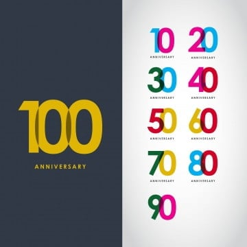 40th Birthday Invitation PNG Images