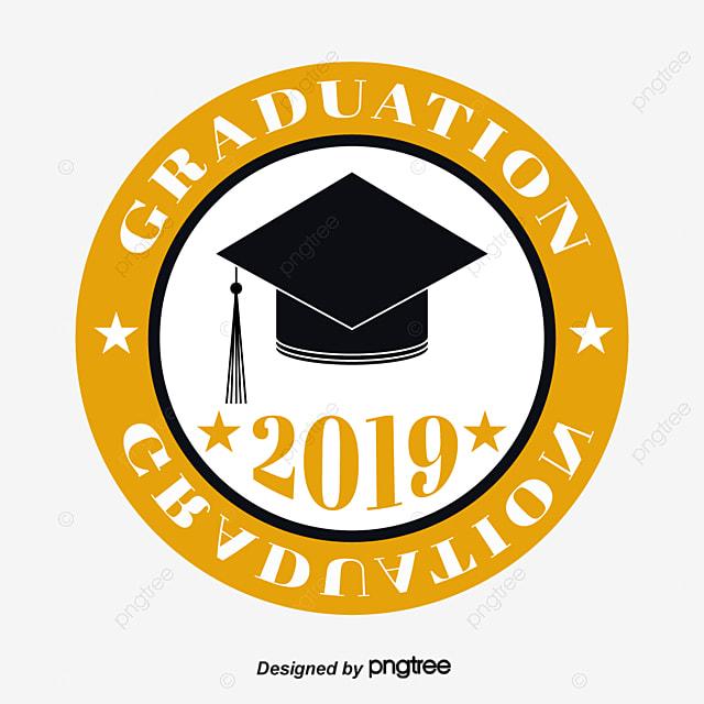Circular Graduation Hat Star 2019 Graduation Font Art Font For Free