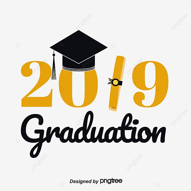 Graduation Cap 2019 Graduation Font Design Art Font For ...