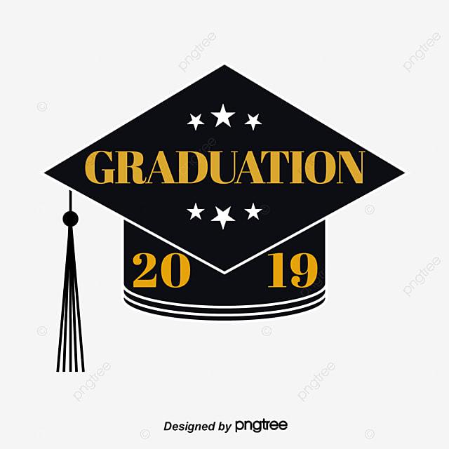 graduation hat star 2019 graduation font art font for free