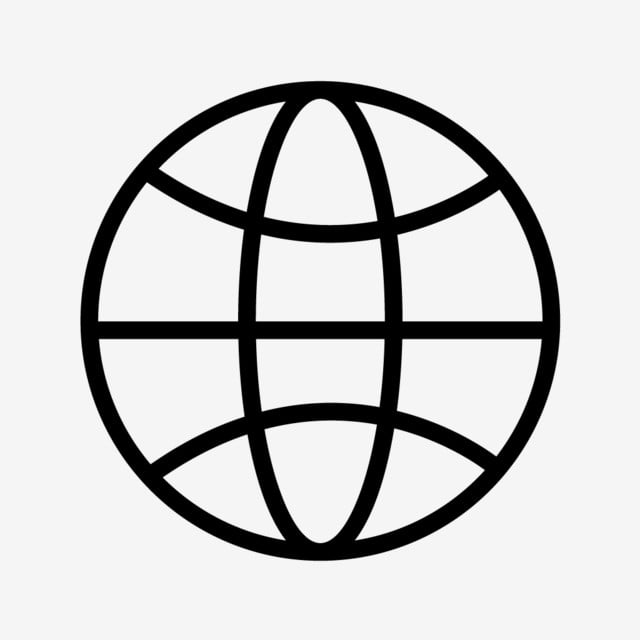 Vector World Globe Icon, Earth, Globe, World Icon PNG and