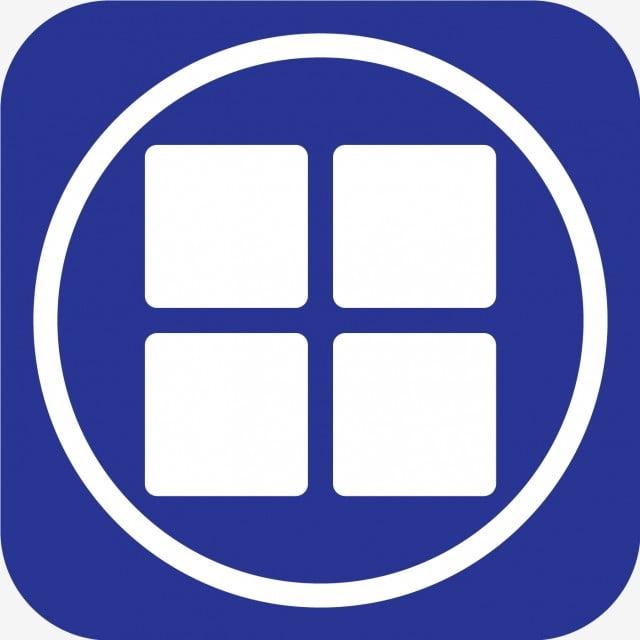 ícone Dos Aplicativos Vetoriais, Apps, Fundo, Black PNG e