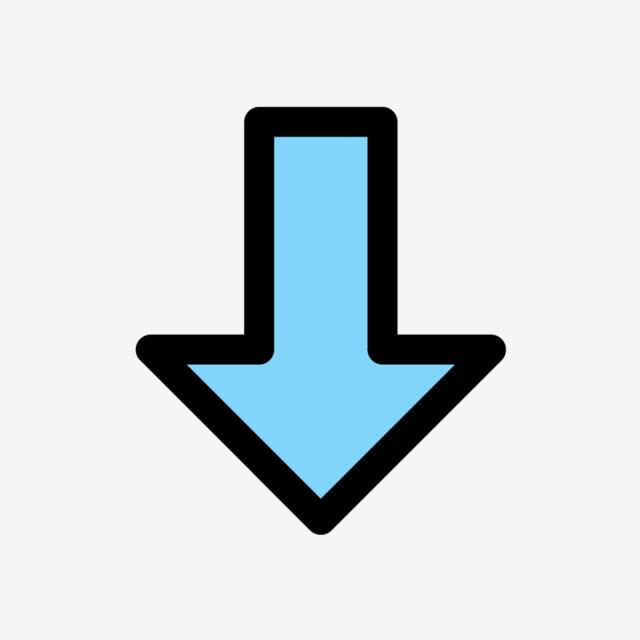 Vector Icono De Flecha Abajo, Clipart De Flecha, Icono De Flecha, Abajo  Iconos PNG y Vector para Descargar Gratis | Pngtree